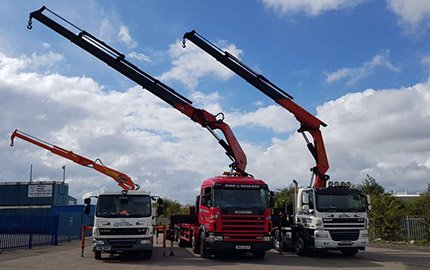 Long Reach Hiab Hire